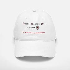 Zombie Killerz Inc 1 Baseball Baseball Cap