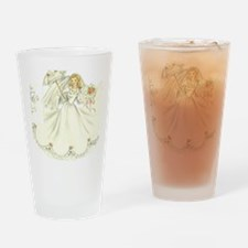 vintage bride picture Drinking Glass