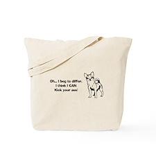 Chihuahuas Kick Butt Tote Bag