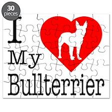 Bullterrier Puzzle