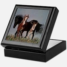 Wild Horses Pillow Keepsake Box