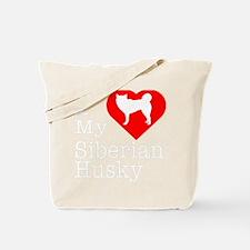 Siberian-Husky-Darks Tote Bag