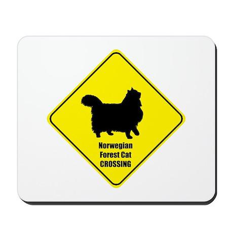 Norwegian Crossing Mousepad
