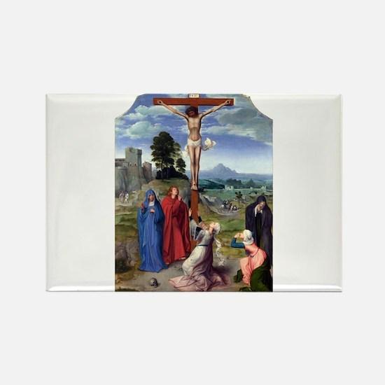 The Crucifixion - Quinten Massys - c 1520 Magnets