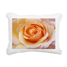 AFP 21b Creamy orange ro Rectangular Canvas Pillow