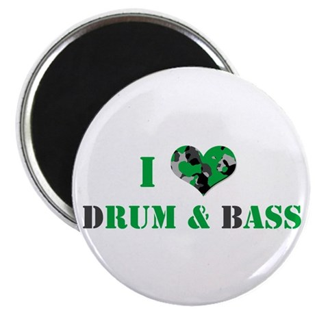 "I Love dRum & bAss 2.25"" Magnet (100 pack)"