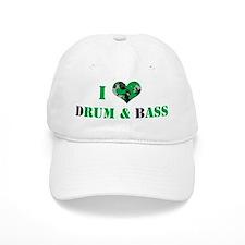 I Love dRum & bAss Baseball Cap
