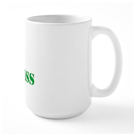 I Love dRum & bAss Large Mug