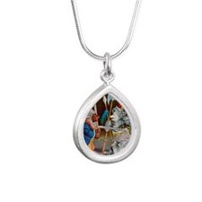 RB_knights in armour rb  Silver Teardrop Necklace