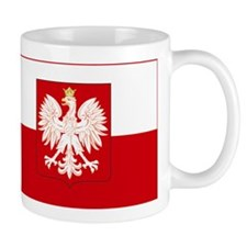 Poland w/ coat of arms Small Mug
