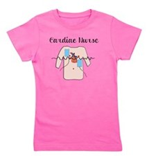 Cardiac Nurse Girl's Tee