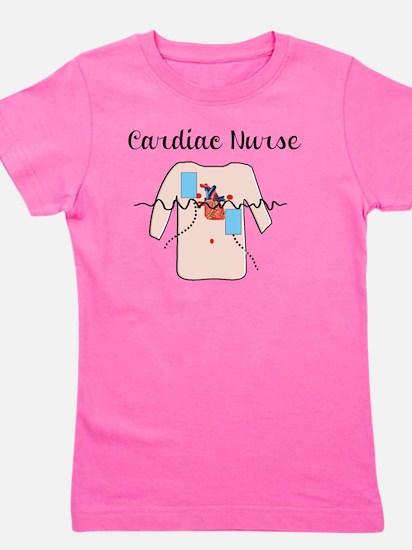 Cardiac Nurse Girl's Tee