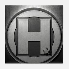 H Steel Tile Coaster