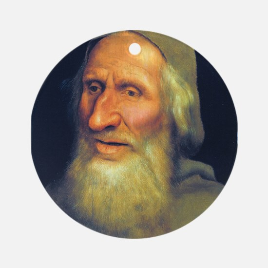 Head of an Old Man- Quinten Massys - c 1525 Round
