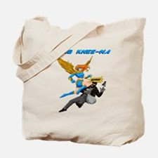 Flying Knee-Na Tote Bag