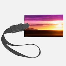 Hueneme-Sunset LaptopSkinn Luggage Tag