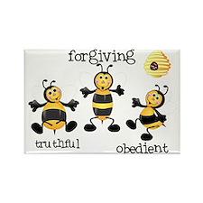 Bee T-Shirt forgiving Rectangle Magnet