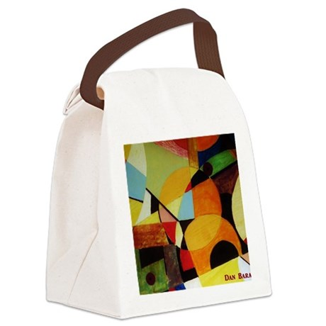 098 297adj Canvas Lunch Bag