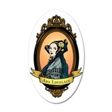 2000px-Ada_Lovelace_color Wall Decal