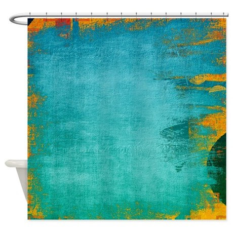 funky city shower curtain by coppercreekdesignstudio
