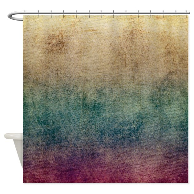 Plum Morning Shower Curtain By Coppercreekdesignstudio
