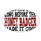 Honey badger Stickers & Flair
