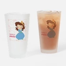 daddys princess Drinking Glass