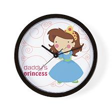 daddys princess Wall Clock