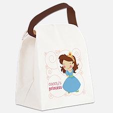 daddys princess Canvas Lunch Bag