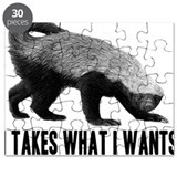 Honey badger Puzzles