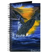 Whale at Sunset Journal