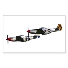 P-51 Rectangle Decal