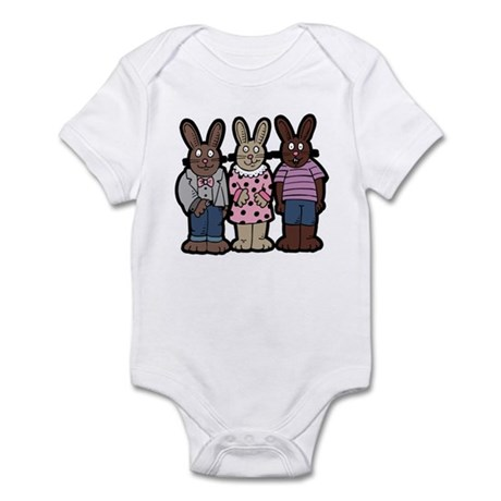 Chocolate Easter Bunnies Infant Bodysuit