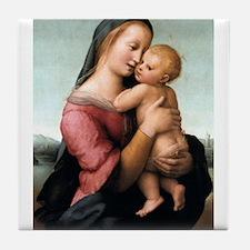 The Tempi Madonna - Raphael Tile Coaster