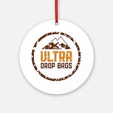 Ultra Drop Bags Logo Color Lg Round Ornament