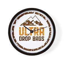 Ultra Drop Bags Logo Color Lg Wall Clock