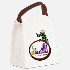 logo_lapel Canvas Lunch Bag