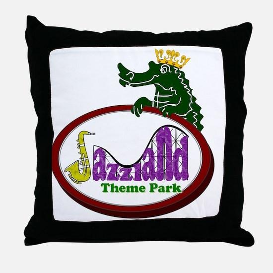 logo_lapel Throw Pillow