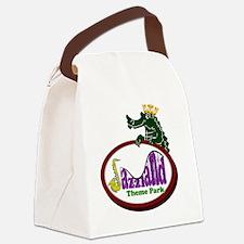 logo_back Canvas Lunch Bag