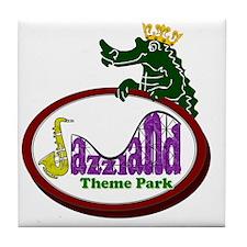logo_back Tile Coaster