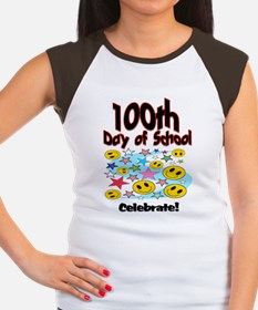 100th Day of school Sta Women's Cap Sleeve T-Shirt