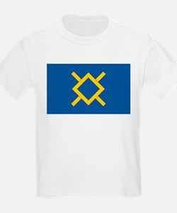 Northern Cheyenne Flag Kids T-Shirt