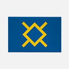 Northern Cheyenne Flag Rectangle Magnet