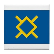 Northern Cheyenne Flag Tile Coaster