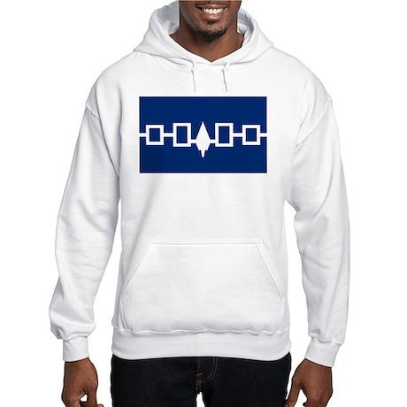 Iroquois Flag Hooded Sweatshirt