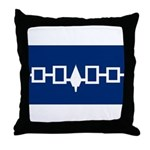 Iroquois Flag Throw Pillow