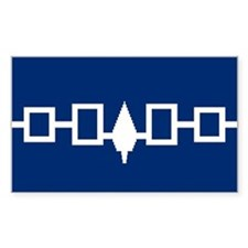 Iroquois Flag Rectangle Decal