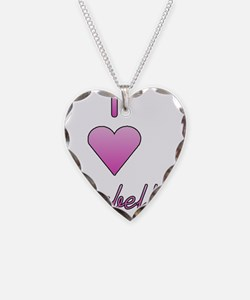 I heart Isabella cp Necklace Heart Charm