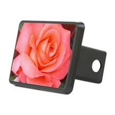 AFP 015a Rose coral clsup Hitch Cover