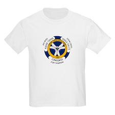 Crow Creek Sioux Flag Kids T-Shirt